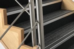 Carpet tiles stairs