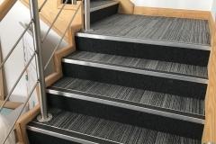 Carpet tiles stairs 2